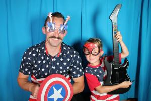 photo booth superheros